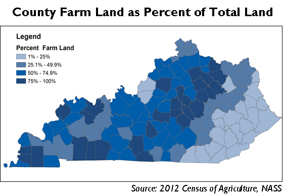 Overview of Kentucky Agriculture, part 2 | CEDIK Faculty and Staff Blog