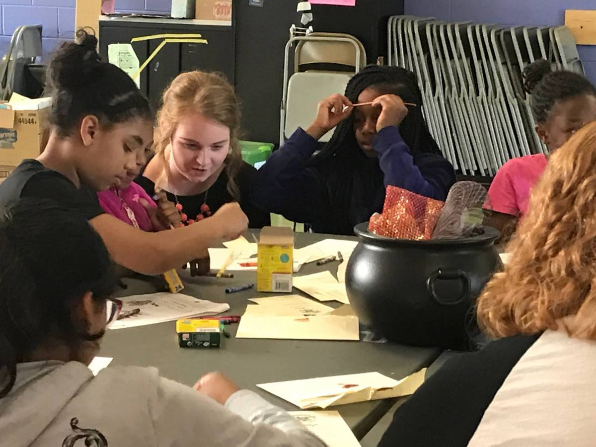 YELP Transformed into Hogwarts Experience for Lexington FifthGraders