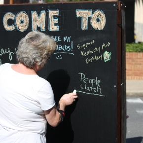 Chalk and Talk: Next Time I Come to Whitesburg…